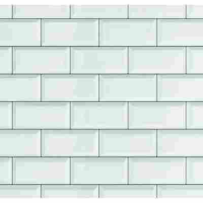 Wandbelag 'Ceramics' subway-tile-weiß 400 x 67,5 cm
