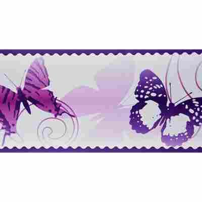 """SK-Borte """"Schmetterlinge"""" lila 10,6 cm"""