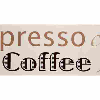 """SK-Borte """"Espresso"""" beige/weiß 13,25 cm"""