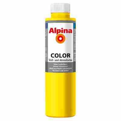 Color Voll- und Abtönfarbe 'Sunny Yellow' seidenmatt 750 ml