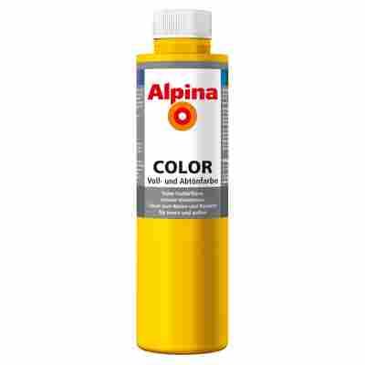 Color Voll- und Abtönfarbe 'Lucky Yellow' seidenmatt 750 ml