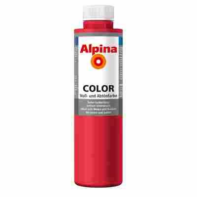 Color Voll- und Abtönfarbe 'Fire Red' seidenmatt 750 ml