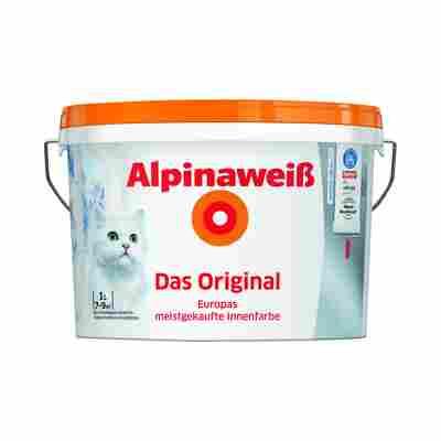 Alpinaweiß Premium-Innenfarbe 'Das Original', weiß, 1 l
