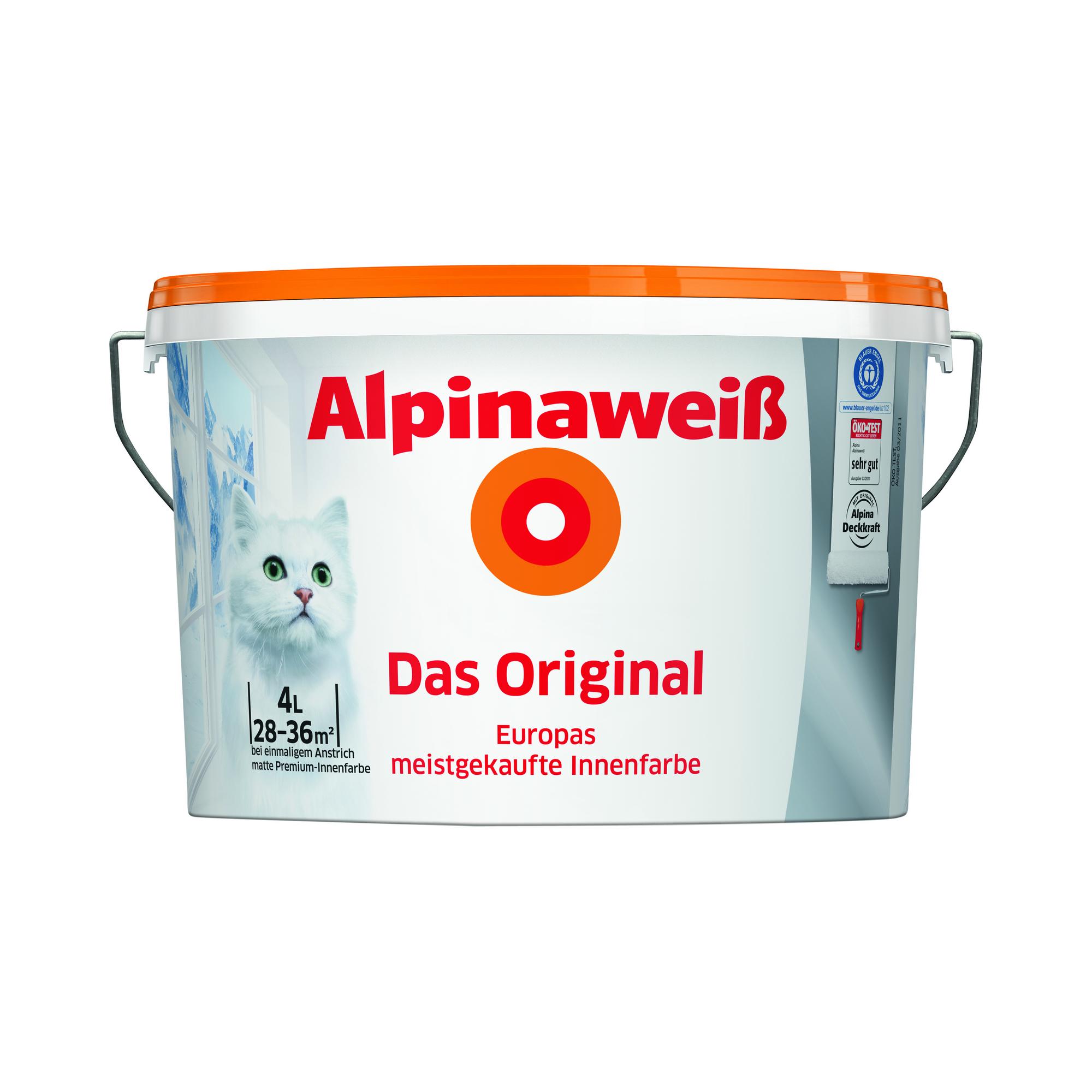 Alpina Innenfarbe weiß
