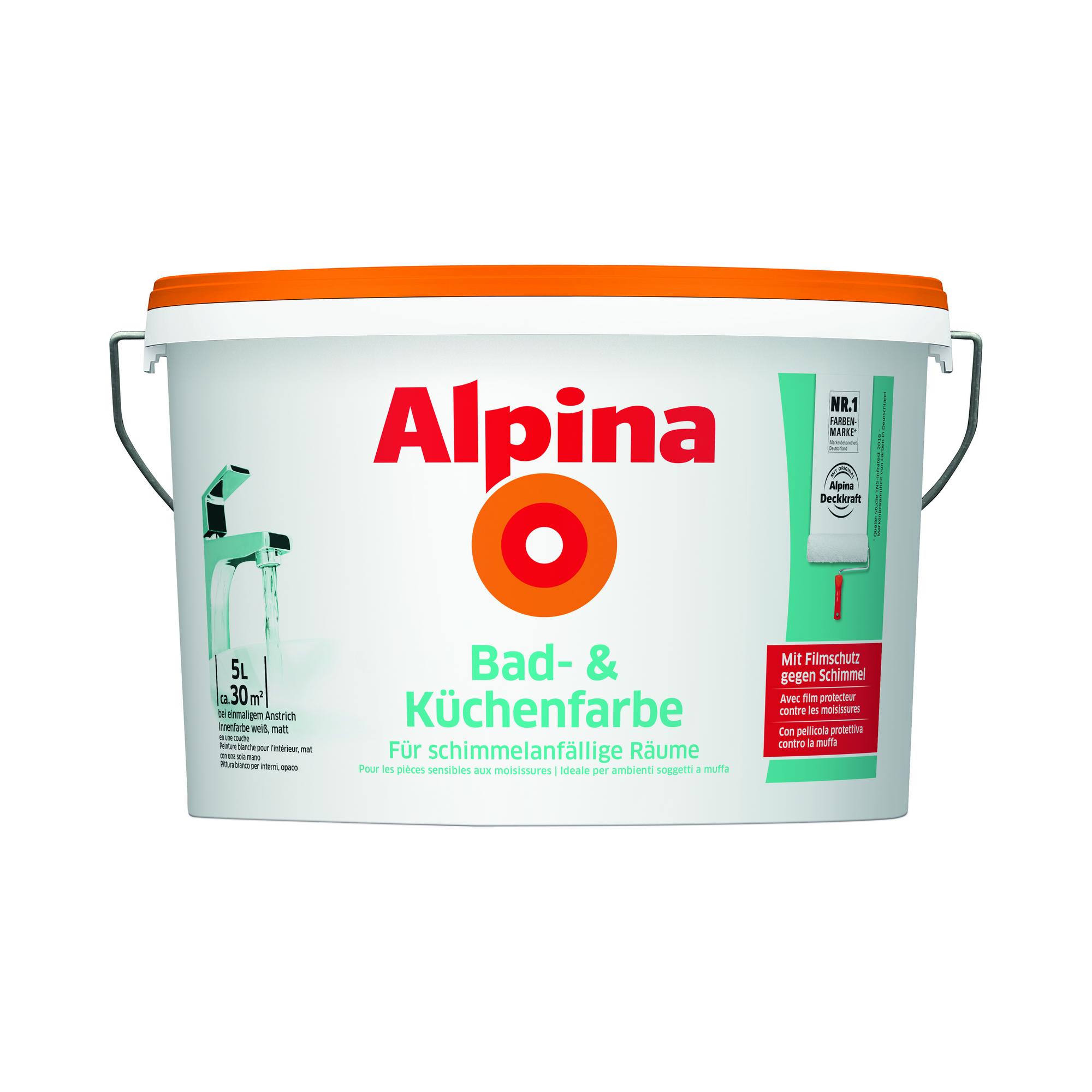 alpina bad und küchenfarbe 5 l ǀ toom baumarkt