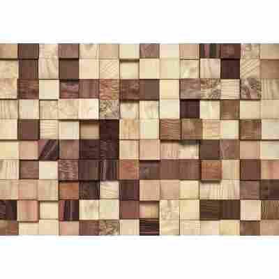 Komar Fototapete 'Lumbercheck' 368 x 254 cm