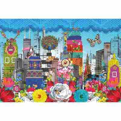 Fototapete 'Melli Mello City' 368 x 254 cm