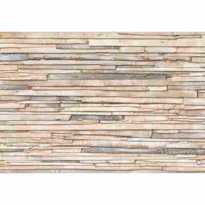 Komar Fototapete 'Whitewashed Wood' 368 x 254 cm