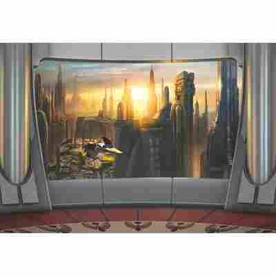 Komar Fototapete 'Star Wars Coruscant View' 368 x 254 cm