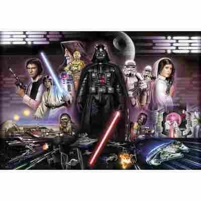 Komar Fototapete 'Star Wars Darth Vader Collage' 368 x 254 cm