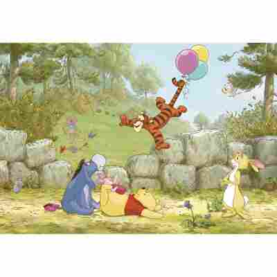 Fototapete 'Winnie Poo Baloon' 368 x 254 cm