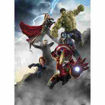 Fototapete 'Avengers Age of Ultron' 184 x 254 cm