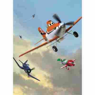 Komar Fototapete 'Planes Dusty and Friends' 184 x 254 cm