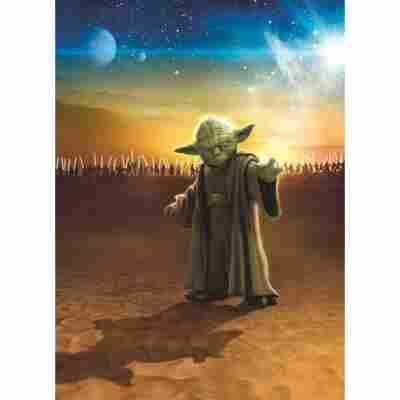 Komar Fototapete 'Star Wars Master Yoda' 184 x 254 cm