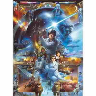 Fototapete 'Star Wars Luke Skywalker Collage' 184 x 254 cm