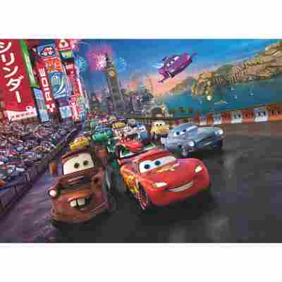 Fototapete 'Cars Race' 254 x 184 cm