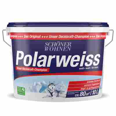 Wandfarbe Polarweiss 10 l weiß