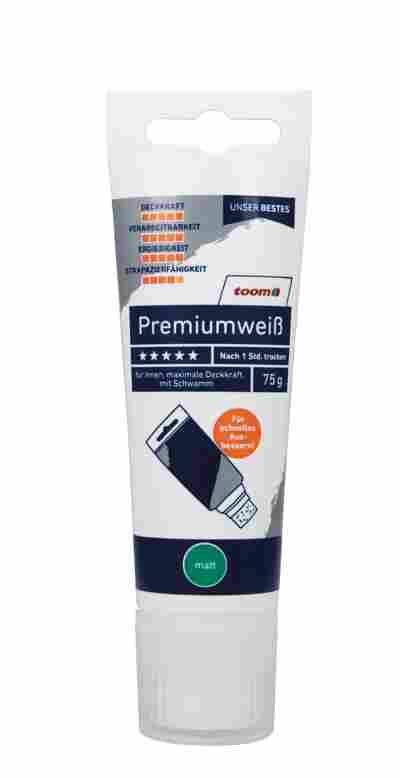 Premiumweiß matt Tube 75 g