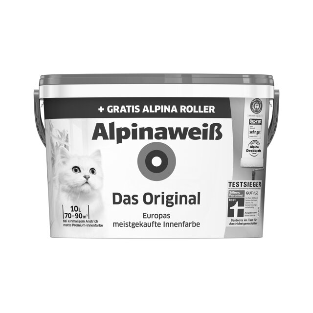 alpinawei 39 das original 39 mit gratis alpina roller toom. Black Bedroom Furniture Sets. Home Design Ideas