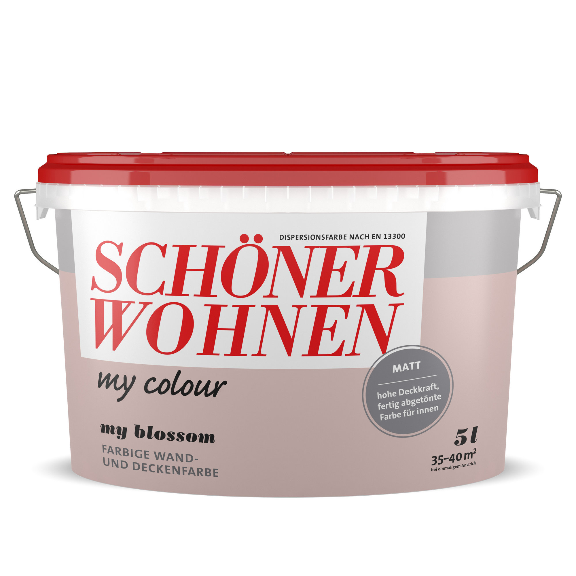 Schoner Wohnen Dispersionsfarbe My Colour My Blossom Matt 5 L ǀ Toom Baumarkt