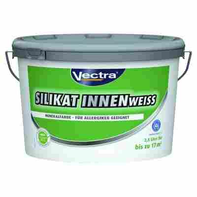 Silikat-Wandfarbe weiß matt 2,5 l