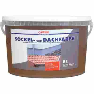 Sockel- & Dachfarbe havannafarben 5 Liter