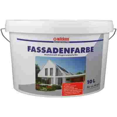 Fassadenfarbe weiß 10 Liter