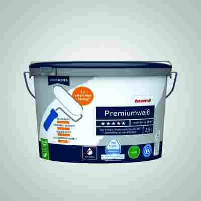 Premiumweiß 2,5 Liter konservierungsmittelfrei