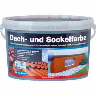 Dach-und Sockelfarbe anthrazit 5 l