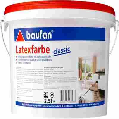 Latexfarbe Classic 2,5l