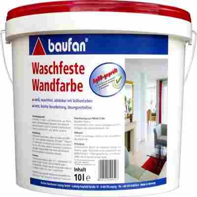 Wandfarbe, waschfest 10l