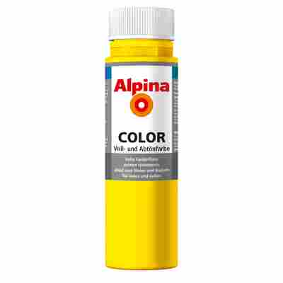 Color Voll- und Abtönfarbe 'Sunny Yellow' seidenmatt 250 ml