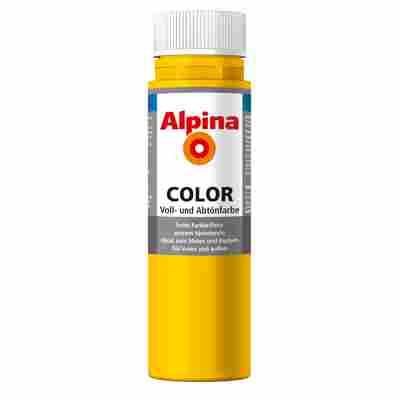 Color Voll- und Abtönfarbe 'Lucky Yellow' seidenmatt 250 ml