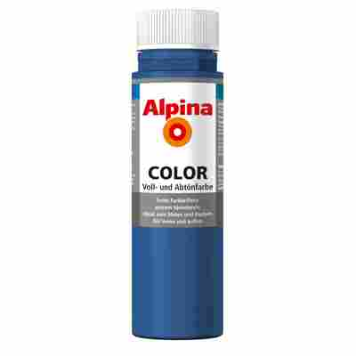 Color Voll- und Abtönfarbe 'Mystery Blue' seidenmatt 250 ml