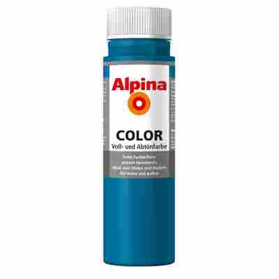 Color Voll- und Abtönfarbe 'Cool Blue' seidenmatt 250 ml