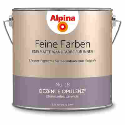 Wandfarbe 'Feine Farben' No. 18 'Dezente Opulenz', lavendel, 2,5 l