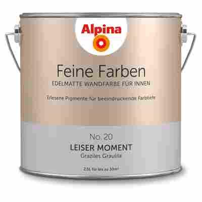 Wandfarbe 'Feine Farben' No. 20 'Leiser Moment', graulila, 2,5 l