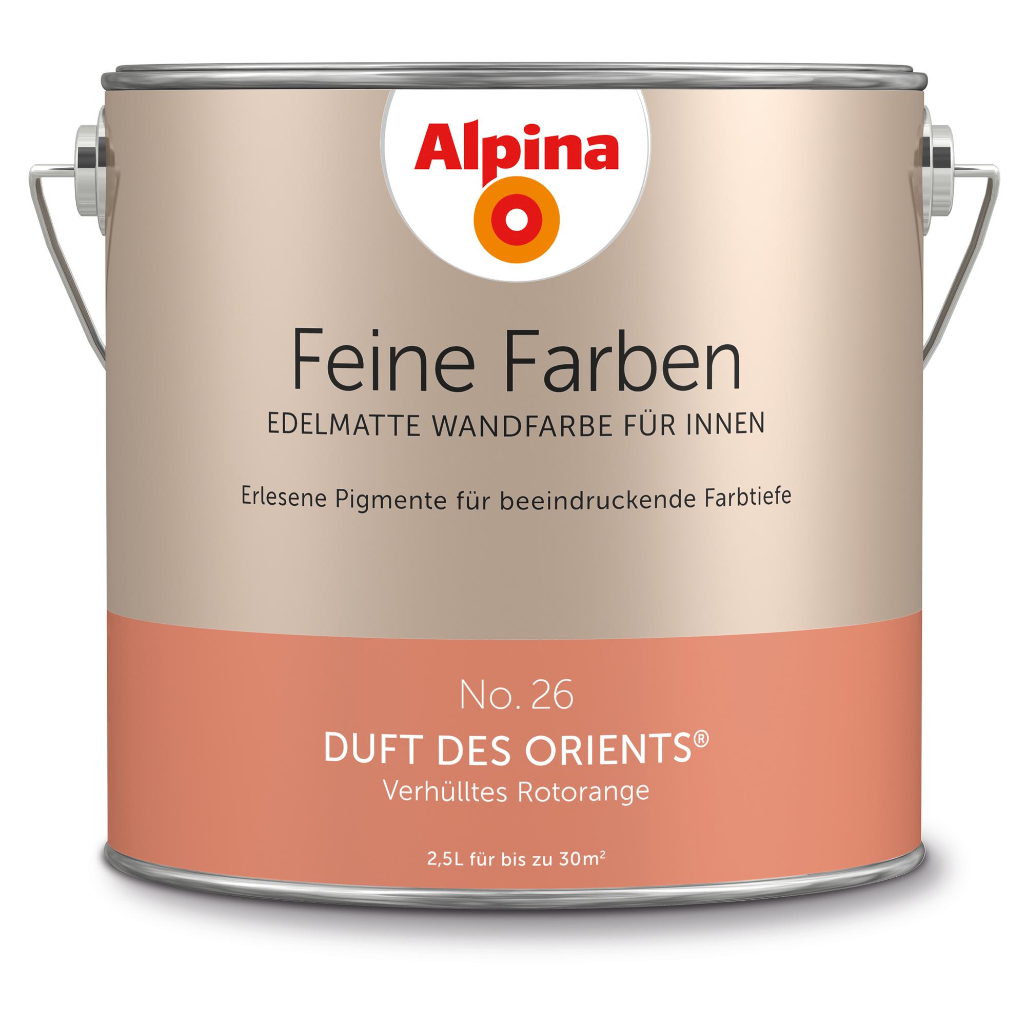 Alpina Feine Farben Duft des Orients, orange