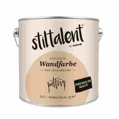 Wandfarbe 'Pottery' Premium Matt 2,5 l