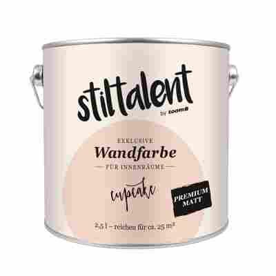 Wandfarbe 'Cupcake' Premium Matt 2,5 l
