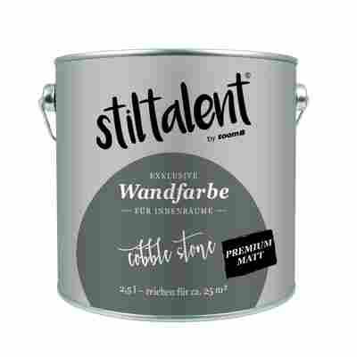 Wandfarbe 'Cobble Stone' Premium Matt 2,5 l