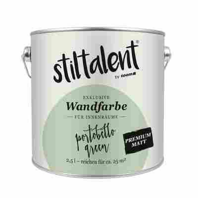 Wandfarbe 'Portobello' Premium Matt 2,5 l