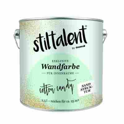 Stiltalent Wandfarbe 'Cotton Candy' Sandstruktur 2,5 l