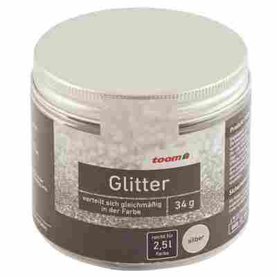 Glitter silber 34 g