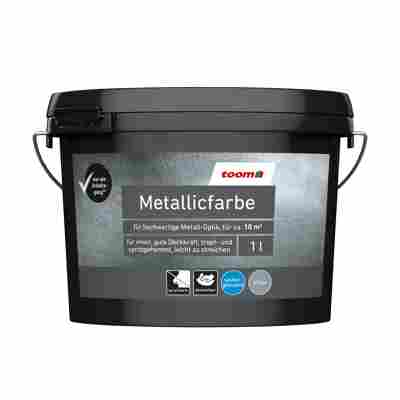 Metallicfarbe Silber 1 l