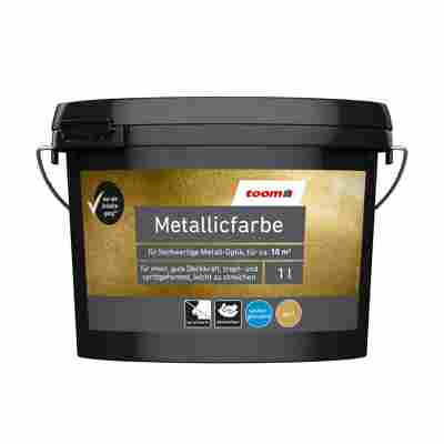 Metallicfarbe Gold 1 l
