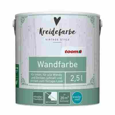 Kreidefarbe Wandfarbe pistaziengrün kreidig-matt 2,5l