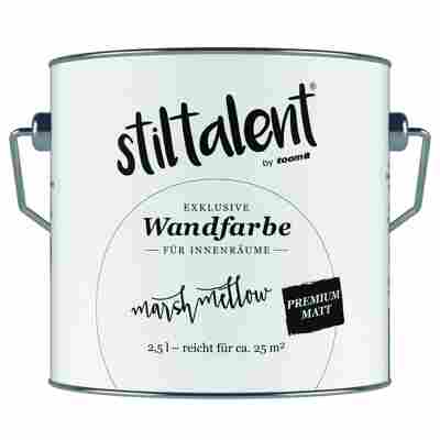 Wandfarbe 'Marshmellow' Premium Matt konservierungsmittelfrei 2,5 l