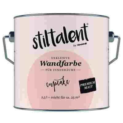 Wandfarbe 'Cupcake' Premium Matt konservierungsmittelfrei 2,5 l