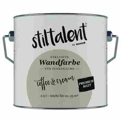 Wandfarbe 'Coffee & Cream' Premium Matt konservierungsmittelfrei 2,5 l